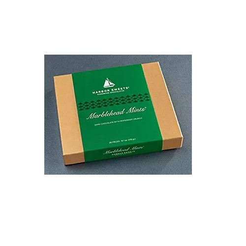 Harbor Sweets Marblehead Mint Gift Box,  20 Pc