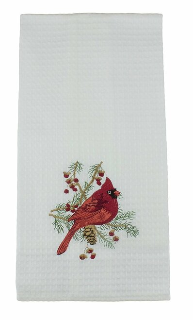 C&F Enterprises Cardinal Hemstitch Guest Towel