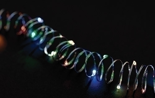 Roman LED Copper Starry 10 ft. String Lights