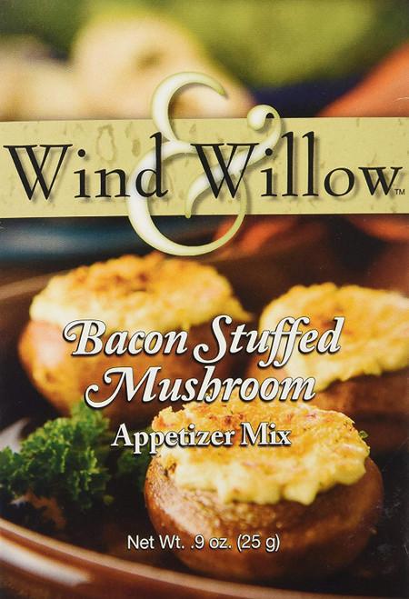 Wind & Willow Cheeseball & Appetizer Mix, Bacon Stuffed Mushroom