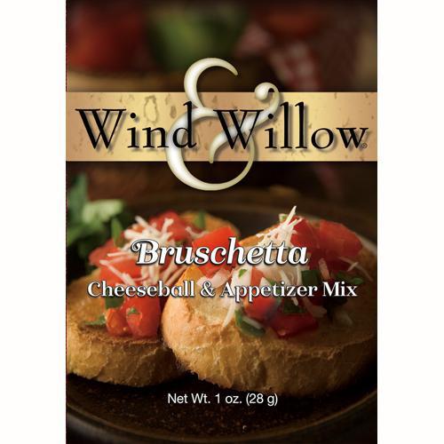 Wind & Willow Cheeseball & Appetizer Mix, Bruschetta