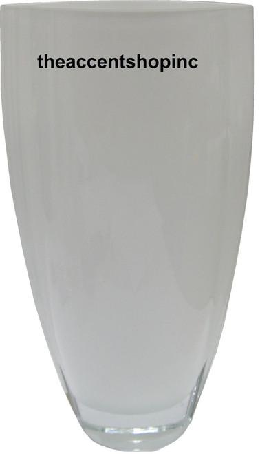 "Badash 12"" Opal White Vase (CD102)"