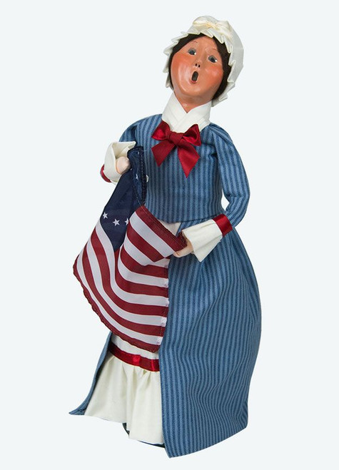 Byers' Choice Caroler, Betsy Ross (554W)