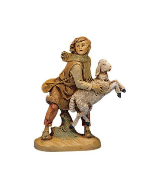 "Roman Fontanini 5"" Collection Aaron the Shepherd"