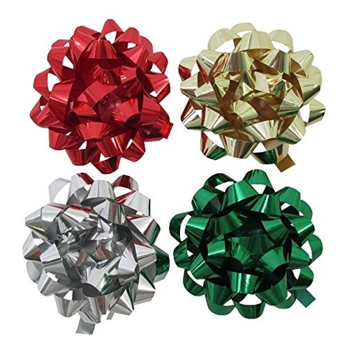 The Gift Wrap Company Metallic Mix Bow Assortment