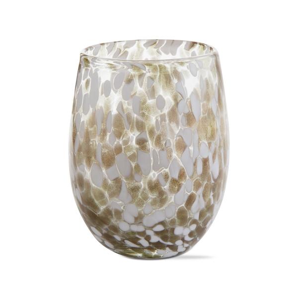 TAG Confetti Stemless Wine Glass