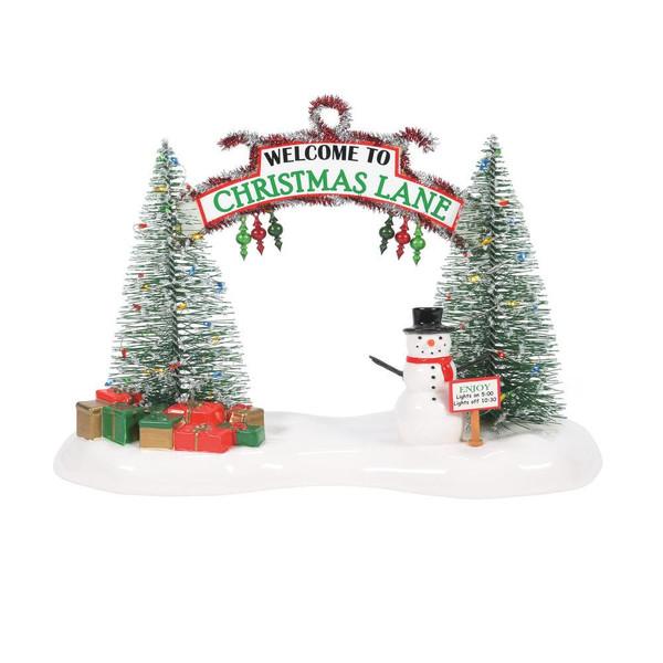 Department 56, Original Snow Village, A Festive Christmas Gate