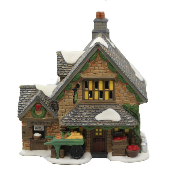 Department 56, Dickens' Village, Cotswold Greengrocer