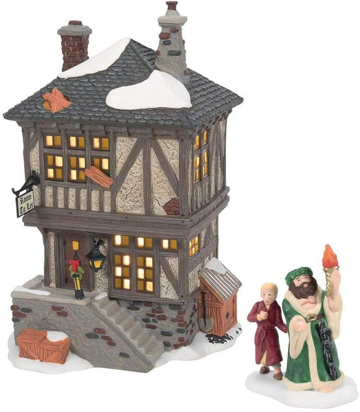 Department 56 Dickens' Village Visiting the Miner's Home