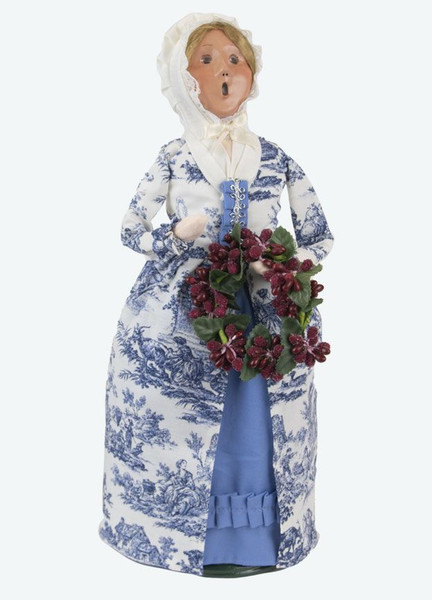 Byers' Choice Caroler, Colonial Woman in Blue (5211)