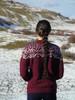 Icelandic Alpaca Sweater - back