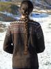 Alpaca Ski Sweater - back