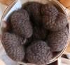 Alpaca Novelty Lopi Yarn - Dark Chocolate Huacaya/Suri