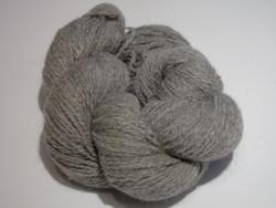 100% Organic Alpaca Yarn - Silver Grey