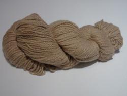 2 ply Camelot Organic Beige 85/15 Alpaca Yarn
