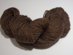 2 ply - Camelot Organic Brown 85/15 Alpaca Yarn