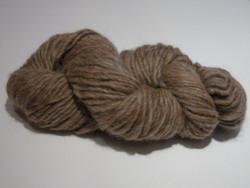 Camelot Organic Baby Lopi Alpaca Yarn - brown flecks