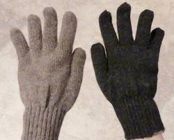 Warm and Cozy Reversible Baby Alpaca Gloves