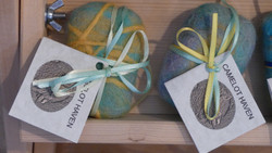 Alpaca Felted Soaps (dyed)
