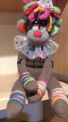 Alpaca Sock Monkey