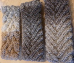 Alpaca ear warmer/headbands