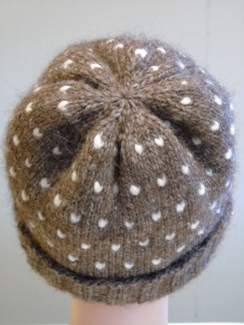 Alpaca Thrum Hat