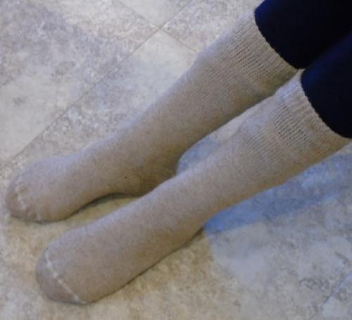 Alpaca Hiking Socks