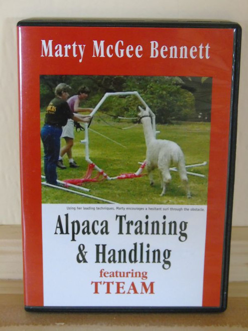 Alpaca Training and Handling DVD