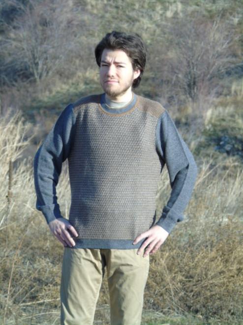 Alpaca Sweater - Forest Ranger