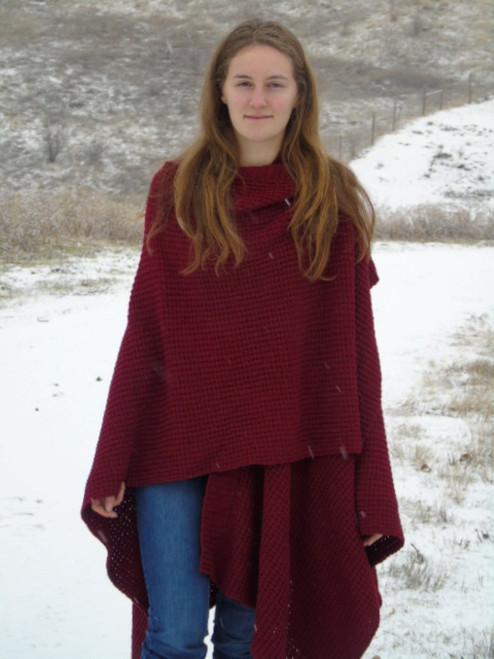 Alpaca (knit) Wrap