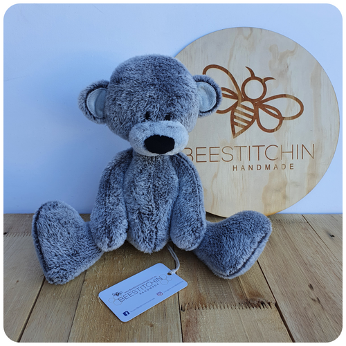 Patches Teddy - Handmade