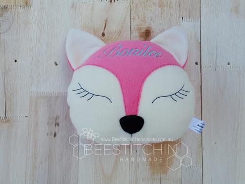 Fox Children's Throw Cushion
