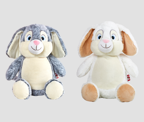 CUBBIES Bunny Personalised Plush
