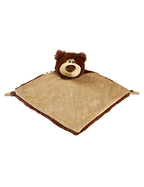CUBBIES Bear Personalised Comforter - Brown