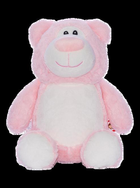 CUBBIES Pink Bear Personalised Plush