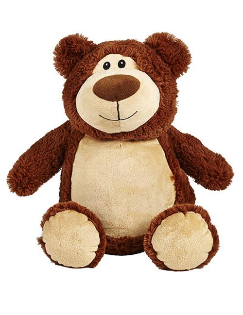 CUBBIES Brown Bear Personalised Plush