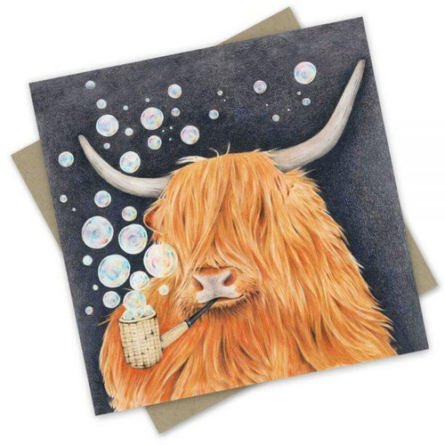 'Airy Coo' Greeting Card