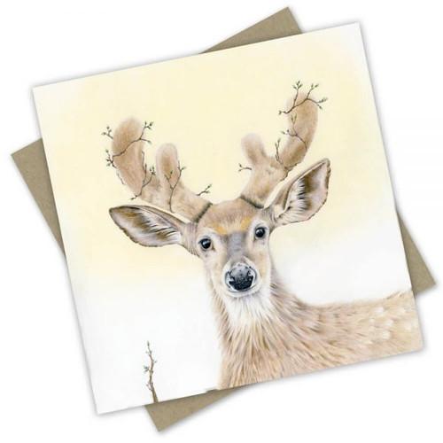 'Deer' Greeting Card