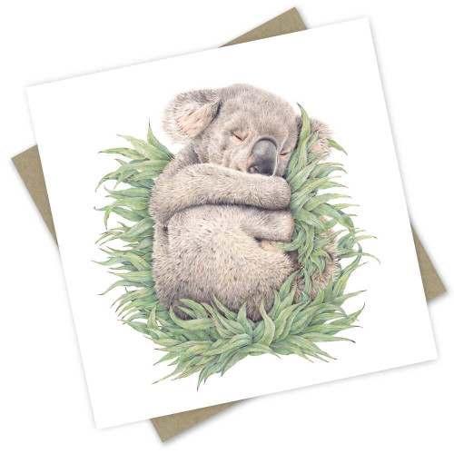 'Rengo the Rescue Koala' Greeting Card