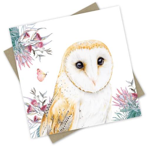 'Jarrah' Greeting Card