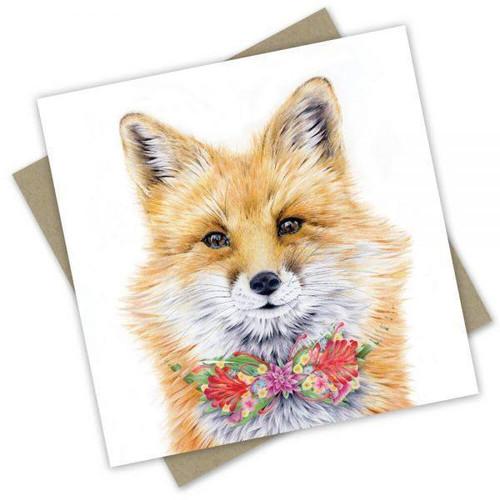 'Foxy Fox' Greeting Card