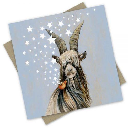 'Smokin' Stars' Greeting Card