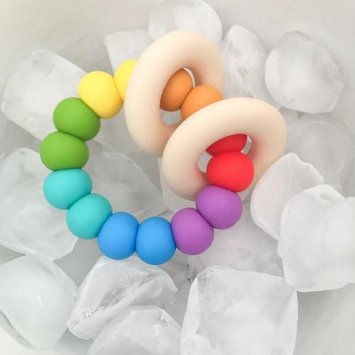GUMMI Silicone Rainbow Teether