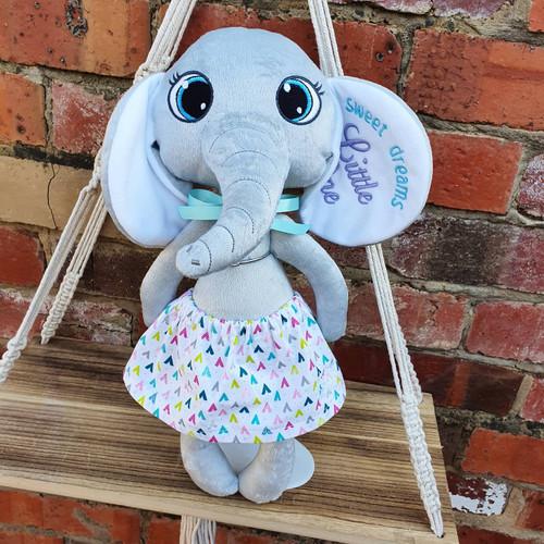 Plush Elephant - Sweet Dreams