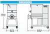 ProCut KMG-32 110lb. Capacity Meat Mixer Grinder 7.5HP
