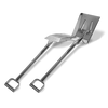 SANI-LAV - Reinforced Stainless Steel Shovel - 217R