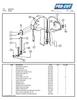 ProCut KSP-116 Meat Bandsaw Parts List
