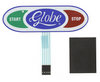 Globe 3600N 3850N 3975N - Membrane Switch Replacement Kit  - 980049