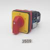 Talsa K-682 - K15e - SWITCH, 3-PHASE, DISCONNECTOR, 16A 208/220V 60HZ (K15- 3PH, W114) - 3509