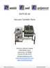 Daniels Food DVTS R2-50 Vacuum Tumbler / Marinator Parts - Parts List